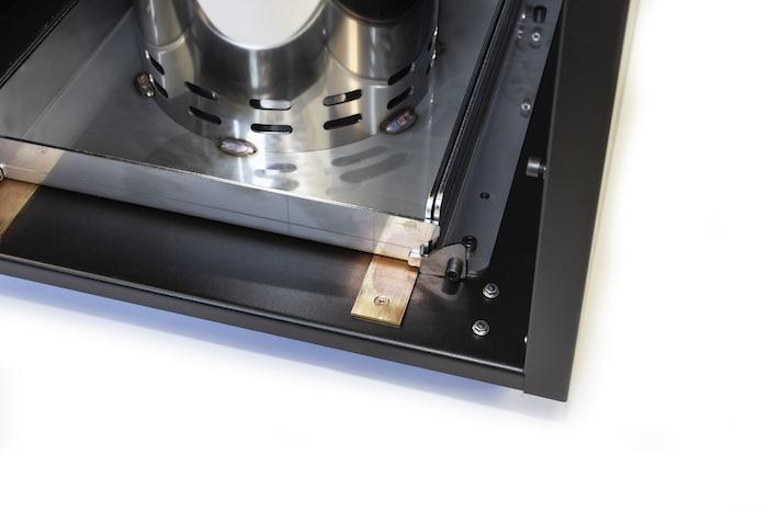 riscaldamento per esterni a basso costo consumo pellet funghi riscaldanti